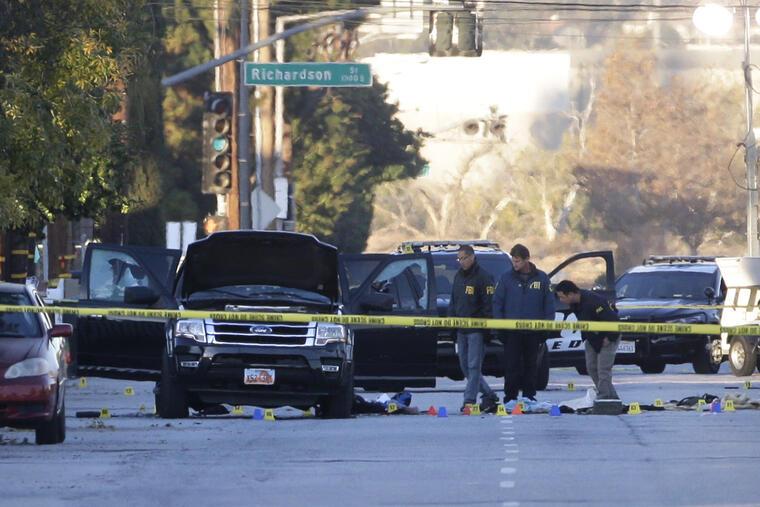 tiroteo en san bernardino, coche de sospechosos
