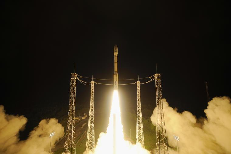 sonda esa lanzada al espacio