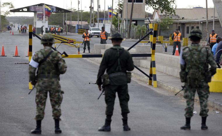 frontera con colombia militarizada