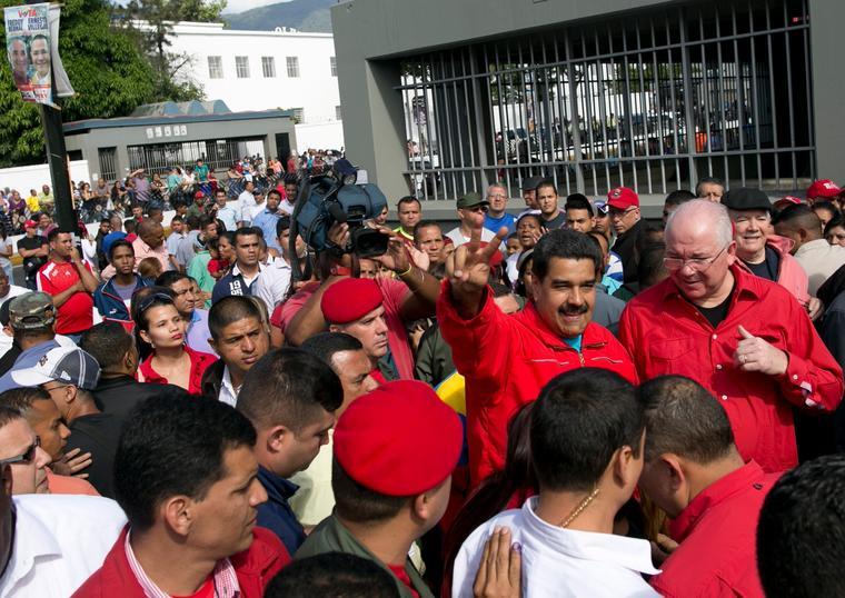 Nicolas Maduro, Rafael Ramirez