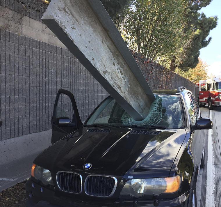 viga atraviesa coche en san jose california