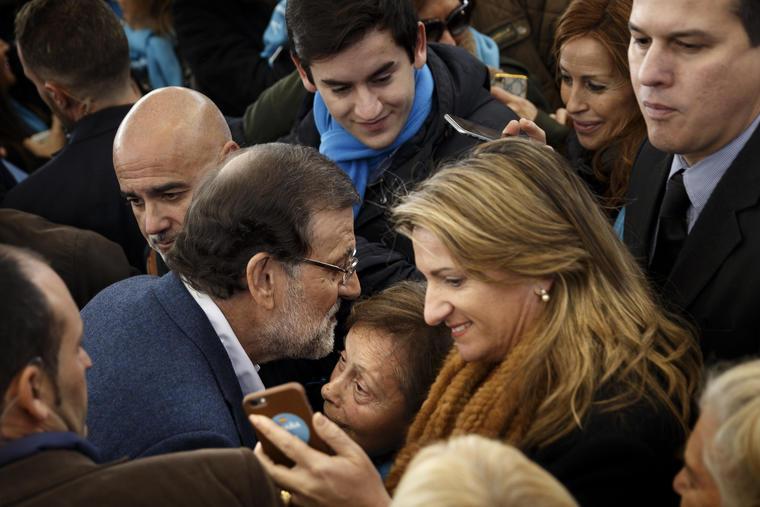 presidente español mariano rajoy