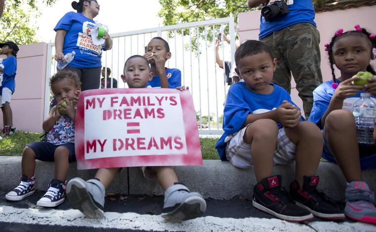 ninos inmigrantes en florida