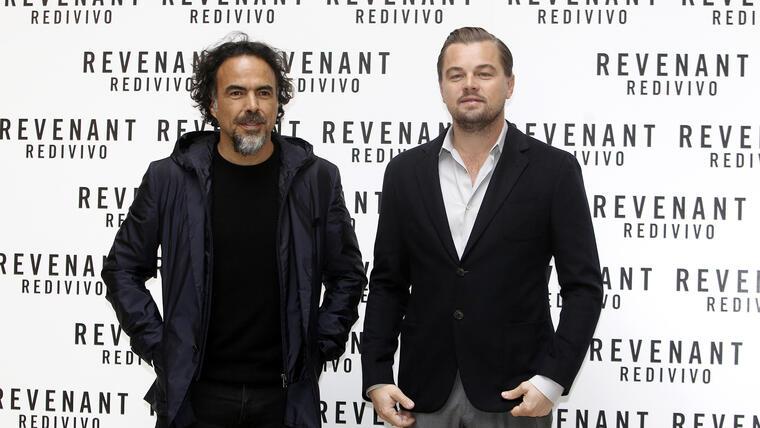 Iñárritu y DiCaprio llegan a México como grandes amigos