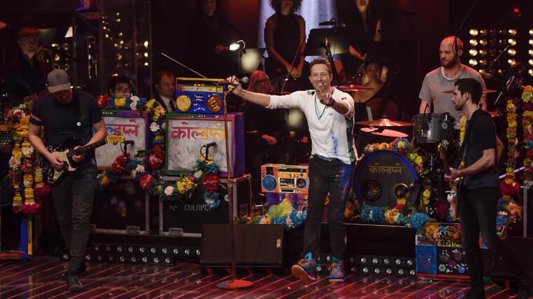 """Coldplay en la final de """"The Voice"""" Alemania 2016"""