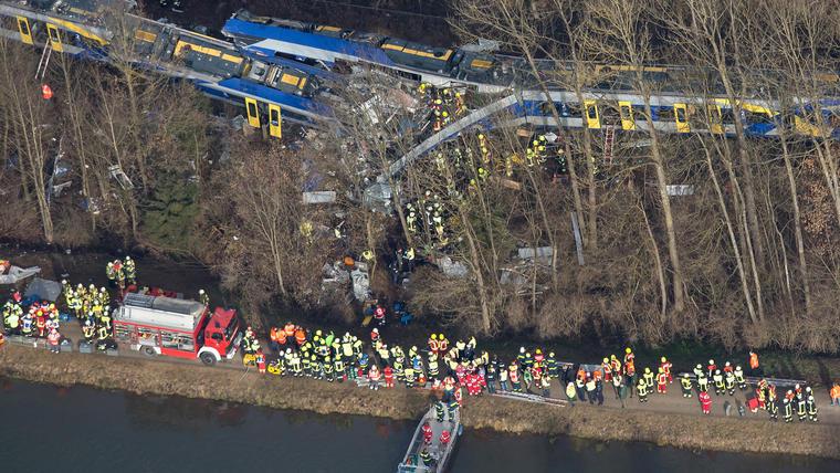 accidente de trenes alemania