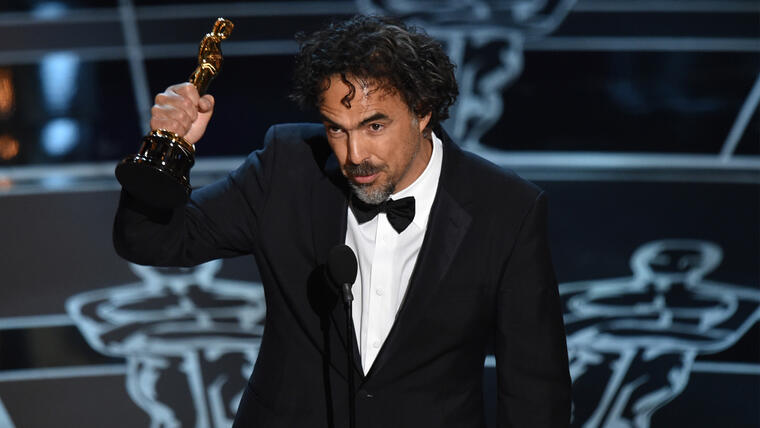 Alejandro Gonzalez Iñarritu en los Oscars