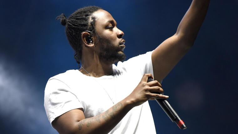 Kendrick Lamar en el Festival Okeechobee de 2016