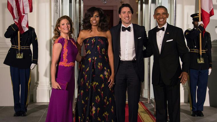 Evento en honor al nuevo Primer Ministro canadiense, Justin Trudeau.