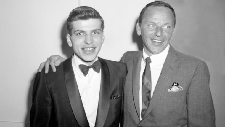 Frank Sinatra y su hijo
