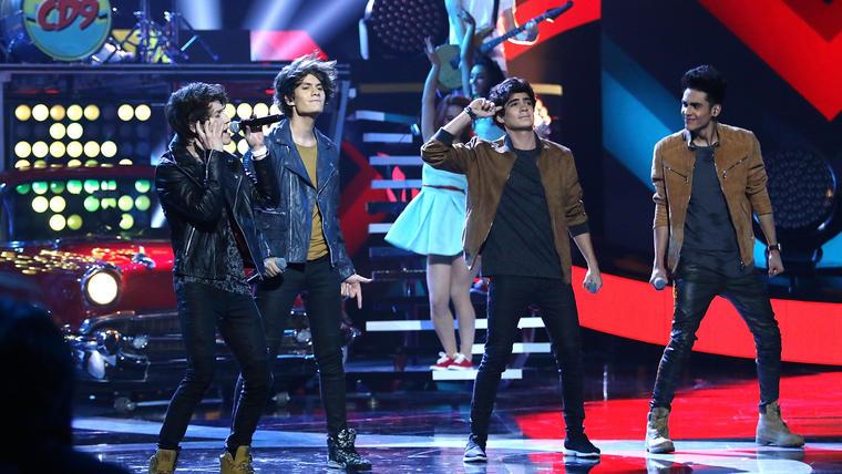 Grupo CD9 en los Latin Billboards 2015