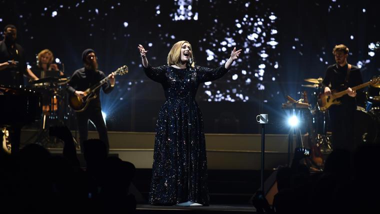 Adele en SSE Arena en Belfast en 2016