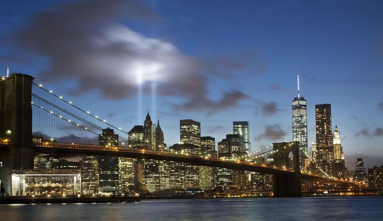 Tributo en Nueva York en septiembre de 2014.