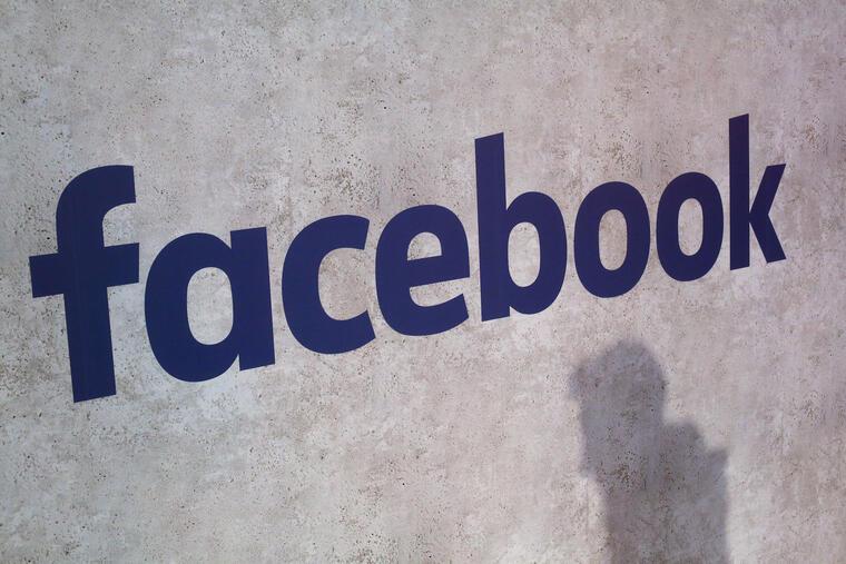 El logotipo de Facebook, visto en esta foto de archivo del 17 de enero de 2017.