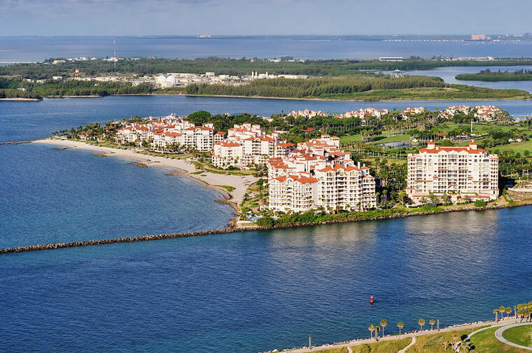 Fisher Island, Miami Beach (Florida)
