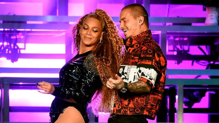 Beyoncé and J Balvin