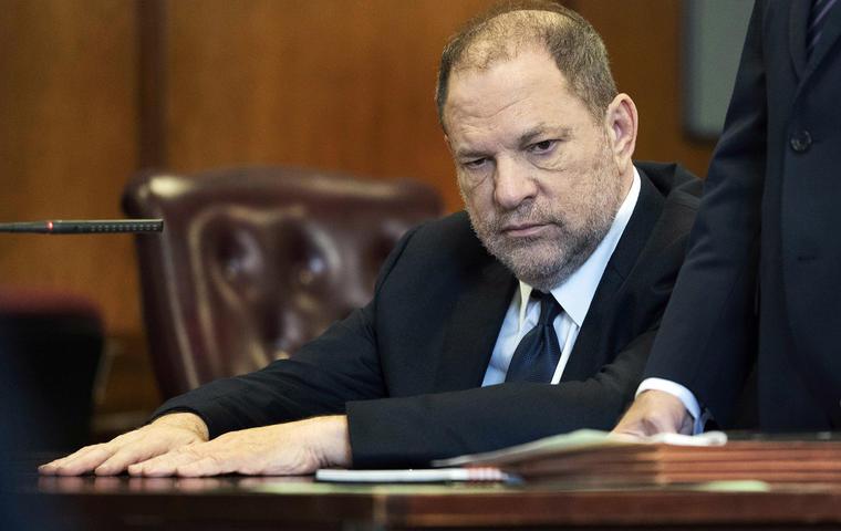 Harvey Weinstein en la corte en Nueva York, 5 de junio 2018