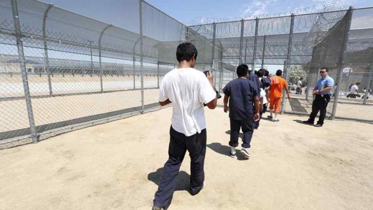 Centro detención de California en una imagen de archivo.