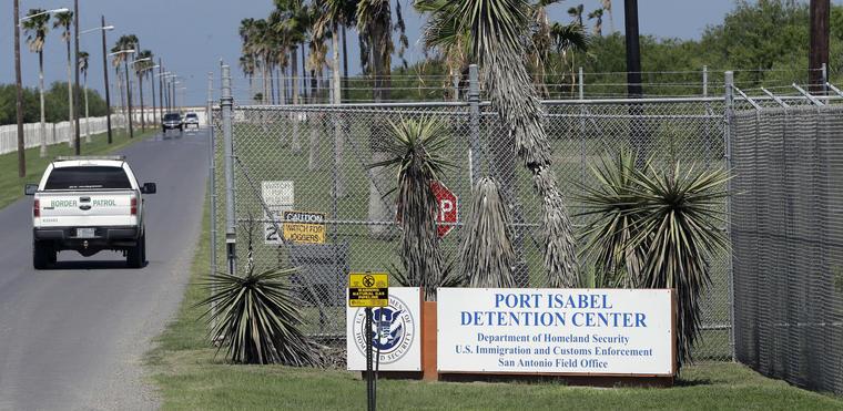 Centro de detención Port Isabel en Los Fresnos, Texas