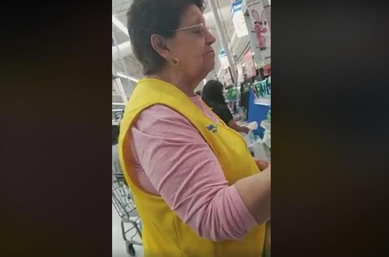 Captura de pantalla del vídeo difundido en redes sociales por el denunciante Joel Aparicio.