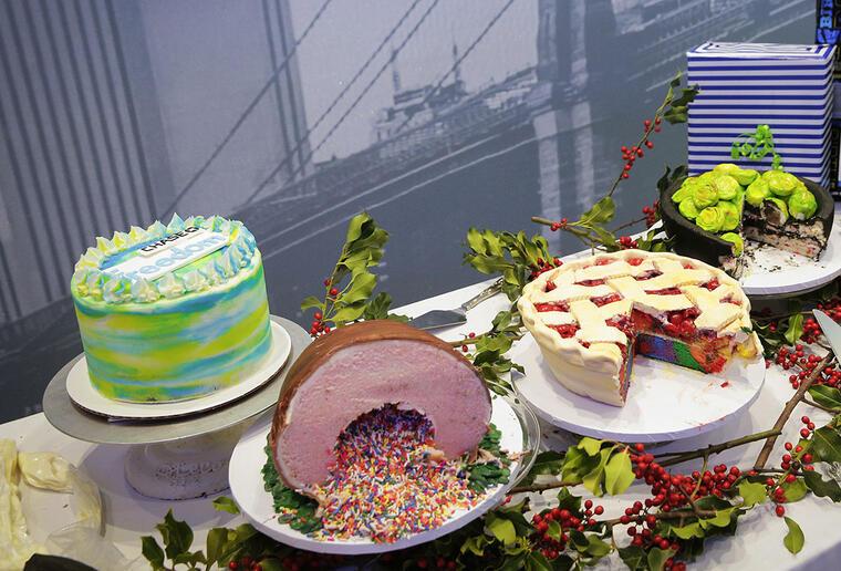 Varios tipos de cakes.