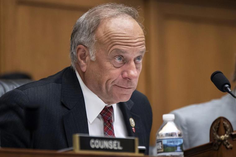 El congresista republicano de Iowa, Steve King, durante un encuentro en el Capitol Hill, en Washington.