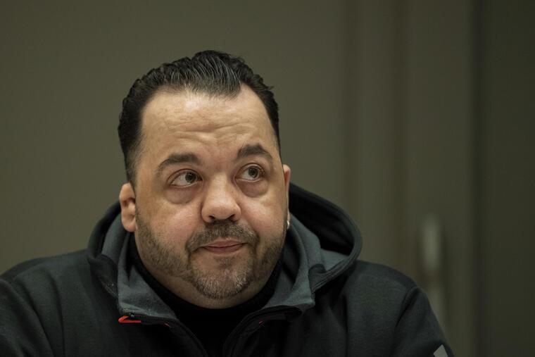 Niels Hoegel, el jueves durante su juicio en Alemania.