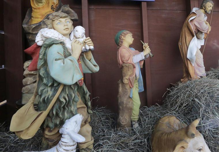 Natividad de la parroquía de St. Susanna en 2017.