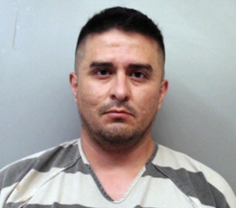 El agente de la Patrulla Fronteriza, Juan David Ortiz, es acusado de asesinato capital.
