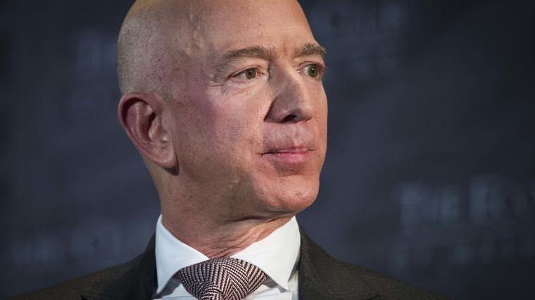 Foto de archivo del director ejecutivo de Amazon, Jeff Bezos.