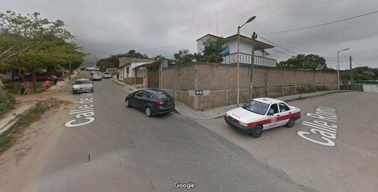 La zona de la colonia Hidalgo de Minatitlán (Veracruz), donde se rescató con vida a una joven secuestrada el pasado lunes, según indicaron las autoridades y varios medios.
