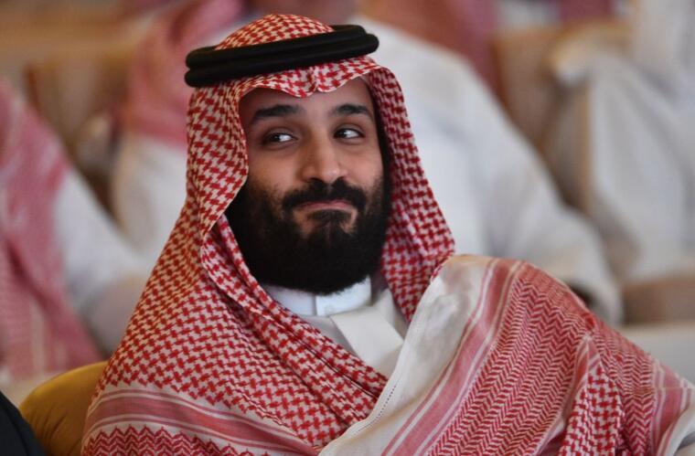 El príncipe heredero de Arabia Saudita, Mohammed bin Salman.