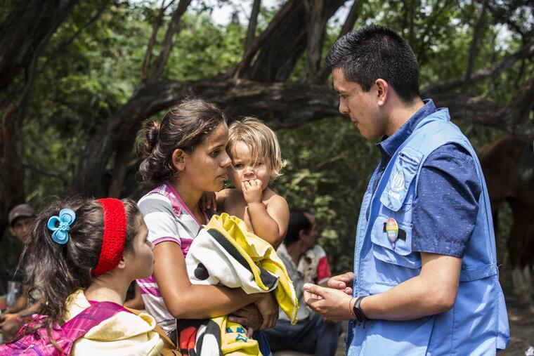 Niños figuran entre los grupos más vulnerables del desplazamiento forzado en las Américas, según Naciones Unidas