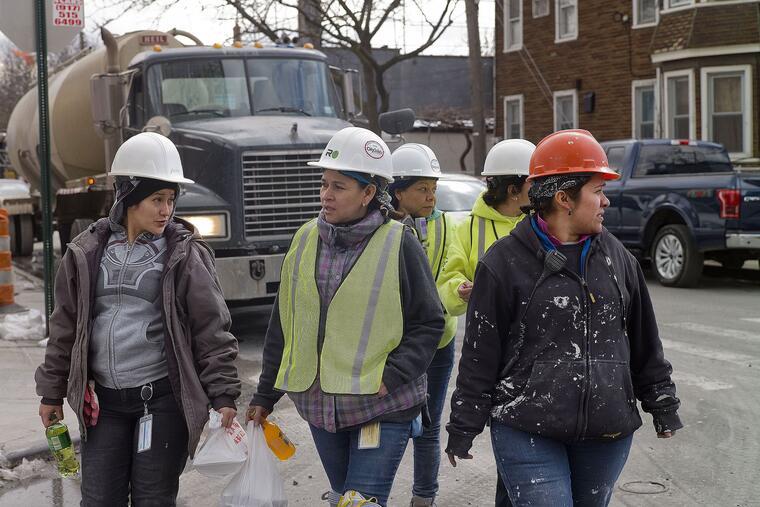 Trabajadoras de la construcción inmigrantes en Nueva York