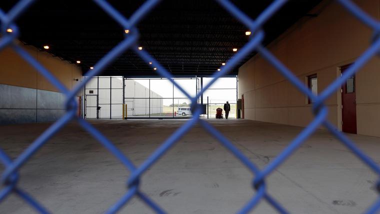 Centro de detención de Karnes en Texas.