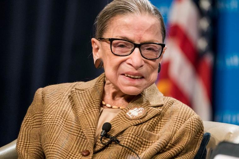 La magistrada, conocida también como RBG, tiene 87 años y fue hospitalizada por última vez en agosto pasado.