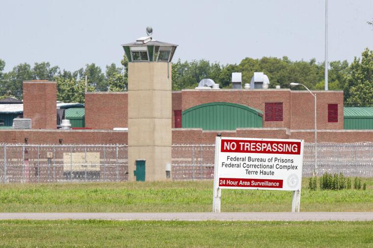 Prisión federal deTerre Haute, Indiana