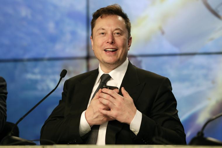 El empresario Elon Musk.