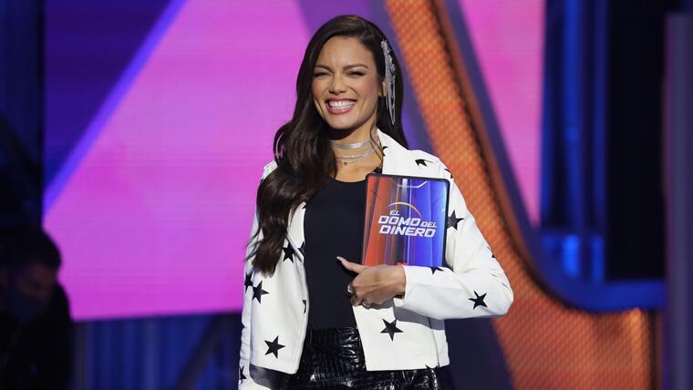 Zuleyka Rivera en el episodio 6 de El Domo del Dinero