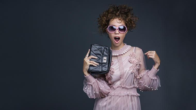 Bolsa de mano de mujer, tipo clutch bag