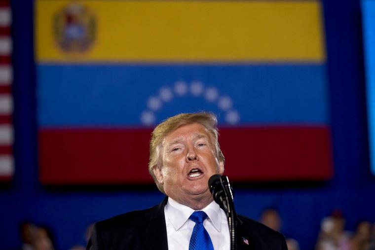 Donald Trump le habló a la comunidad venezolano-americana