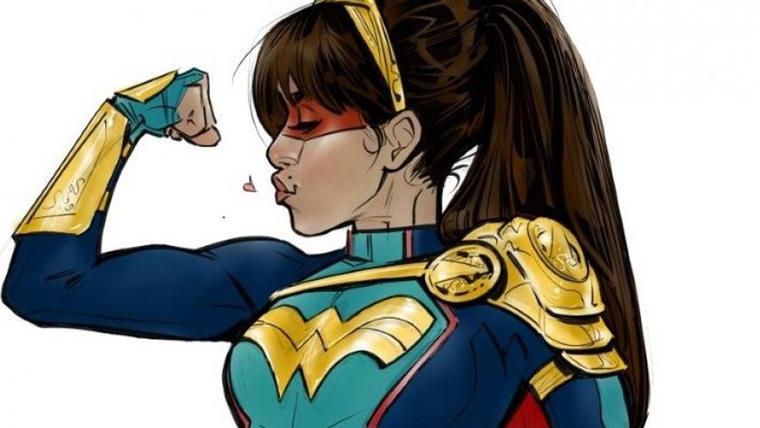 Yara Flores la primera superheroína latina de DC Comics.