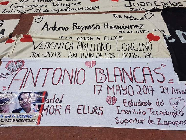 Antonio Blancas, desaparecido en 2017 en Zapopan, Jalisco