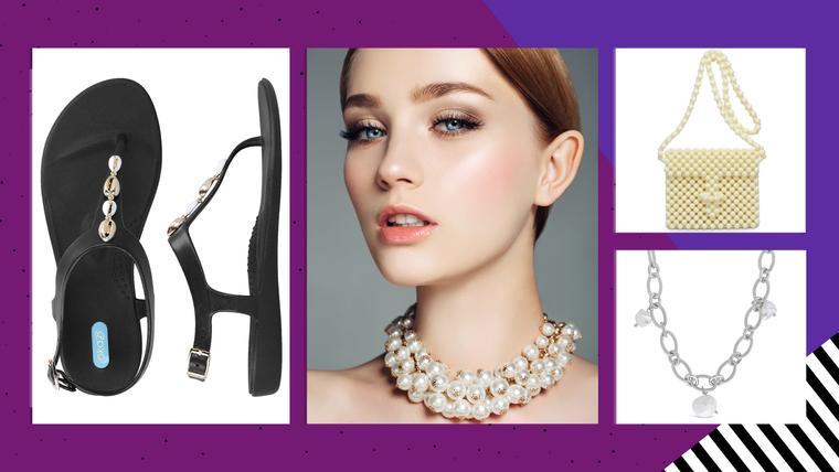 Perlas tendencia de moda mujer