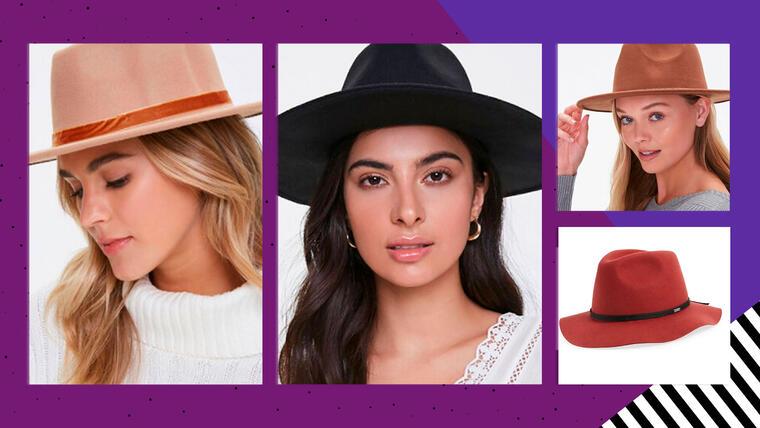 Sombrero de mujer estilo fedora: la moda que debes usar para un aire boho