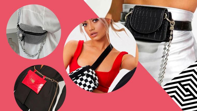 Belt bags: bolsas-cinturon, los bolsos de mujer en tendencia