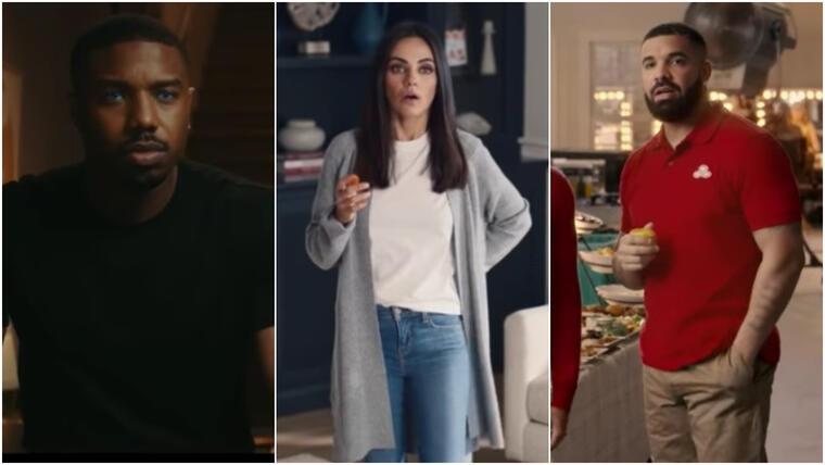 Michael B. Jordan, Mila Kunis y Drake