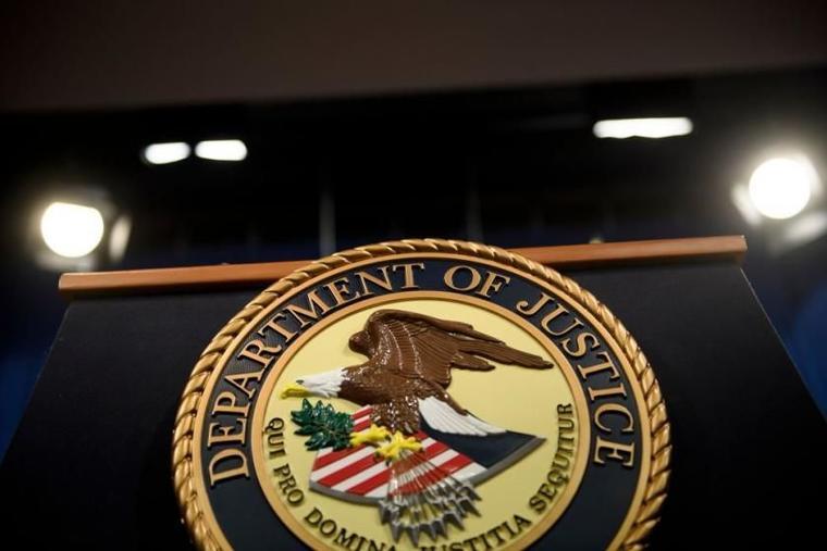 Logo del Departamento de Justicia