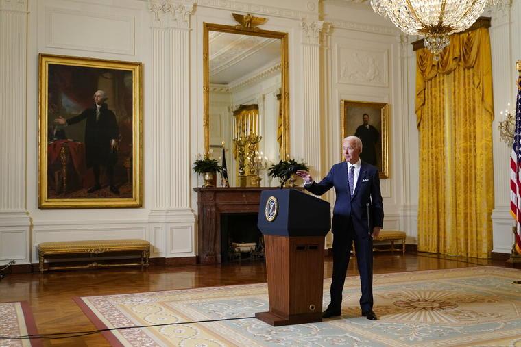 El presidente, Joe Biden, participa en la versión virtual de la Conferencia de Seguridad de Munich.