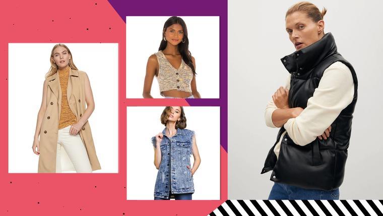 Moda de chalecos para mujer